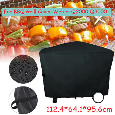 $ CDN19.10 • Buy BBQ Grill Full Length Cover For Genuine Weber Family Q 7184 (replaces 7112)