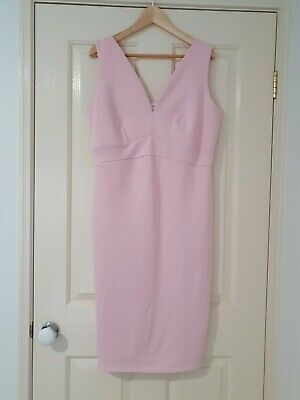 AU25 • Buy Asos Maternity Pink Dress Size 18 UK Or 16 AU Baby Shower Cocktail Summer