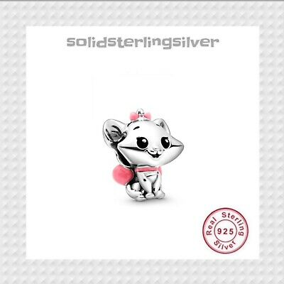 AU37.99 • Buy New S925 Sterling Silver Disney Marie Charm By Pandora's Palace