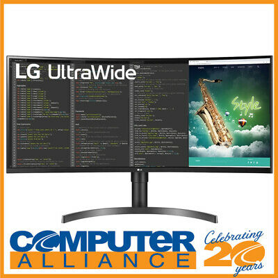 AU699 • Buy 35  LG 35WN65C-B UltraWide QHD HDR VA FreeSync Curved Gaming Monitor With Speake