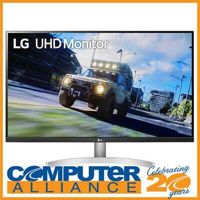 AU559 • Buy 31.5  LG 32UN500-W 4K HDR10 FreeSync White Gaming Monitor With Speakers
