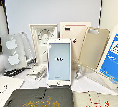 Excellent Condition! Boxed Apple IPhone 8 Plus - 64GB  Rose Gold (Unlocked)A1897 • 350£