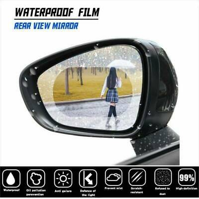 2Pcs Anti-fog Rainproof Car Wing Side Mirror Protective Film Sticker Rain Shield • 1.99£