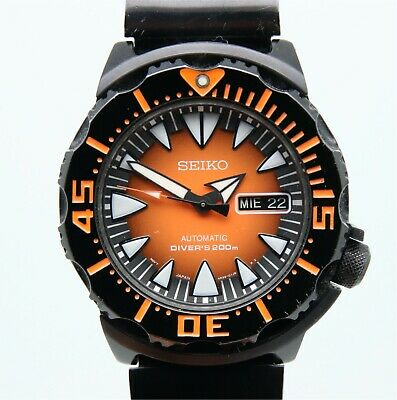 $ CDN595.58 • Buy Seiko Superior SRP311 Halloween Monster Men's 200m Diver Automatic Watch 390355