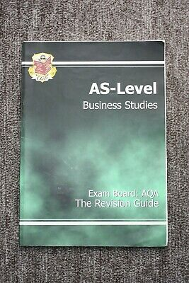 AS -Level Business Studies AQA Revision Guide By CGP Books Paperback Book The • 2.50£