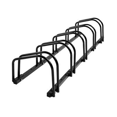 AU58.95 • Buy 5-Bikes Stand Bicycle Bike Rack Floor Parking Instant Storage Cycling Portable