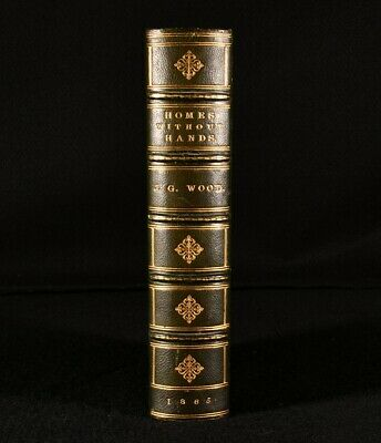 £187.50 • Buy 1865 Homes Without Hands Rev J G Wood Illustrated Fine Binding