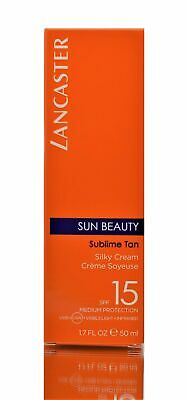NEW Lancaster Sun Beauty Silky Touch Cream For Face SPF15, 50ml • 11.99£