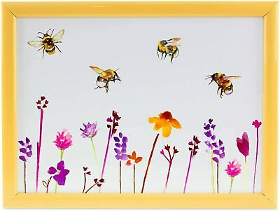 Busy Bees Lap Tray Cushioned Bed Tray Laptop Tray Dinner Tray  Busy Bees Gift  • 11.99£