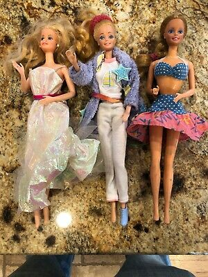 $ CDN31.33 • Buy Vintage BARBIE Dolls 1966 Philippines Lot Of 3 With Clothes Nice Condition