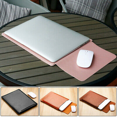 "AU24.99 • Buy Universal Slim PU Leather Laptop Sleeve Case Computer Notebook Bag For 12-13""AU"