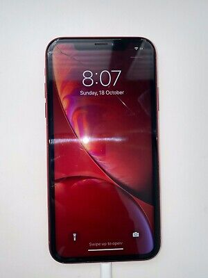AU170.50 • Buy Apple IPhone XR RED - 256GB - (Unlocked) A2105 (GSM) (AU Stock) Cracked Screen