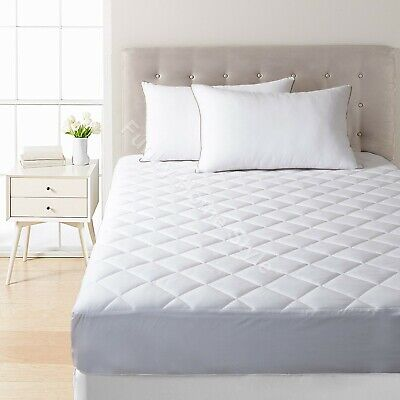 Waterproof Non Noisy Mattress Protector Comfortable Sleep Provider In All Sizes • 10.48£