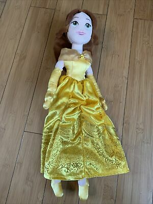 Disney Store Exclusive Princess Belle Soft Plush Doll Toy Teddy  • 14£
