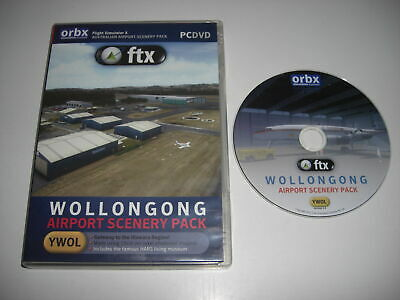 ORBX FTX WOLLONGON Airport Scenery Pc Microsoft Add-On Flight Simulator X FSX  • 12.99£