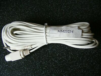 Micromark MM23234 10 Metre CCTV Camera Extension Lead Jack Plug Connections NEW • 6.99£
