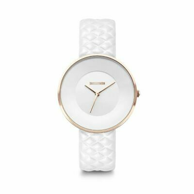 Lambretta .Cielo 34 Rosegold Quilted White Ladies Womens Wrist Watch 2272WHI • 44.99£