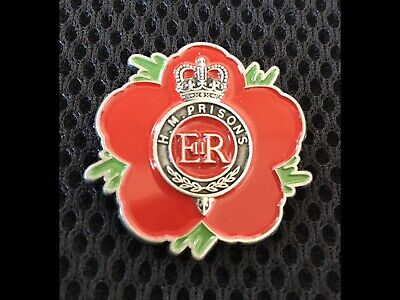 Her Majesty Prison Service ( HMP-83 ) 🌺 Flower Of Remembrance 3D • 8.95£