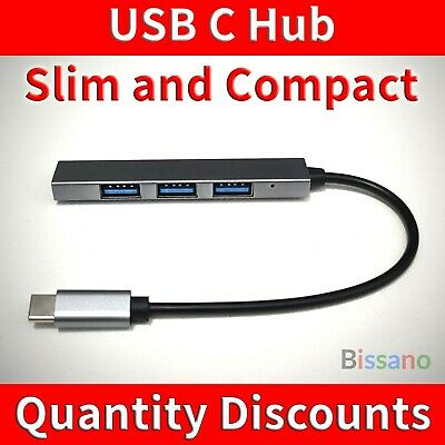 AU15 • Buy USB C Hub To 4 Port USB 2.0 For PC MacBook Air Pro Laptop Android IPhone