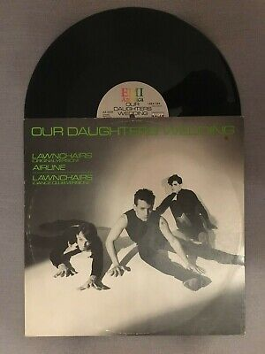 """£500 • Buy Our Daughters Wedding - 12"""" Single Of Lawnchairs  Super Rare In Pic Sleeve"""
