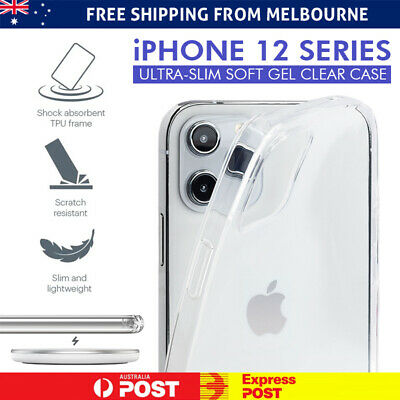 AU6.98 • Buy Clear Gel Case IPhone 12 Pro Max Mini 11 X XS XR 8 7 6 6S Plus 5 Ultra Thin Soft