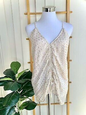 AU47.20 • Buy Alice McCall Stardusk Cami Shell Top Size 10 - BNWT$240