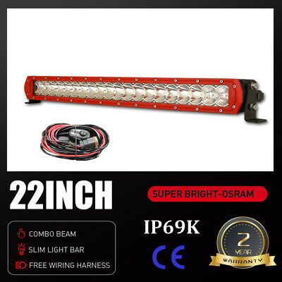 AU59.99 • Buy OSRAM LED Light Bar 22 Inch One-row Spot Flood Combo Driving Offroad Truck 4WD