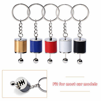 Car Tuning Parts Gearbox Gearshift Gear Shift Keychain Keyring Cylinder Modified • 3.09£