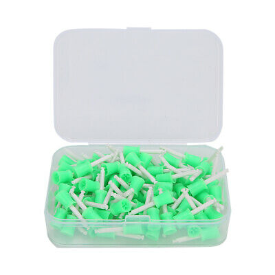 100PCS Polisher Brusher Cup Tartar Plaque Remover For Teeth Polishing Buffing • 6.11£