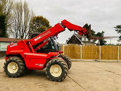 Manitou Mlt527t Turbo Telehandler * Only 3925 Hours * C/w Pick Up Hitch • 14,950£