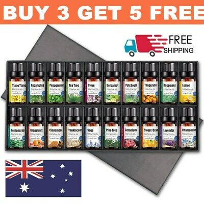 AU11.99 • Buy Aromatherapy Essential Oils 100% Natural Pure Essential Oil Fragrances 10ml NEW