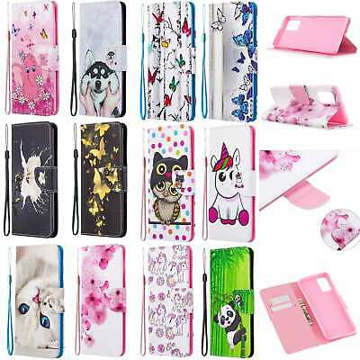 £4.35 • Buy Magnetic Leather Card Wallet Flip Stand Case Cover For Various Mobile Phones