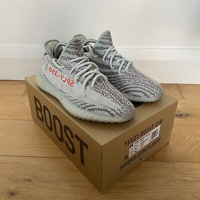 Adidas Yeezy 350 Boost V2 Blue Tint UK 8.5 US 9 Good Condition • 159.99£