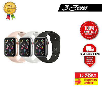 AU327 • Buy As New Apple Watch Series 4 - 40mm 44mm  Aluminum - GPS + Cellular Express Post