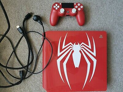 AU479.99 • Buy Console PS4 Slim Red 1TB Spiderman Spider Man Limited Collector Edition 🇦🇺