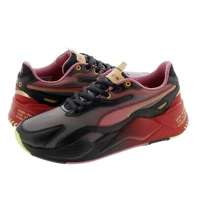 AU126.34 • Buy AUTHENTIC Puma RS-X3 Sonic X Black-High Risk Red Running Shoes Men Size