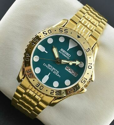 $ CDN41.24 • Buy Vintage Seiko Automatic Sports 21 Jewels Cal.6319a Day Date Men's Wrist Watch