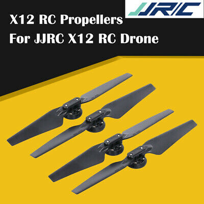 AU15.93 • Buy JJRC X12 WIFI FPV Racing RC Drone Quadcopter Models CCW & CW Foldable Propellers