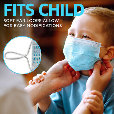 AU16.99 • Buy 3 Layers Disposable Medical Mask Child/Adult Mask 98% Surgical Grade Mel Stock