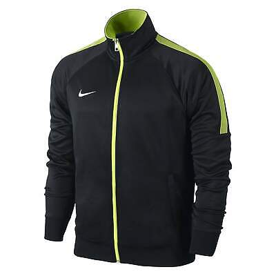 Nike Youth Unisex Black Volt Yellow Team Club Trainer Jacket Track Top • 27.63£