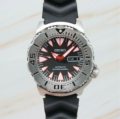 $ CDN1018.58 • Buy Seiko Superior SRP313J Dracula Monster Men's 200m Diver Automatic Watch 4D1590
