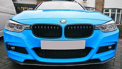 AU140.85 • Buy Splitter For BMW F30 F31 M Sport Front Bumper Performance Spoiler Valance Chin