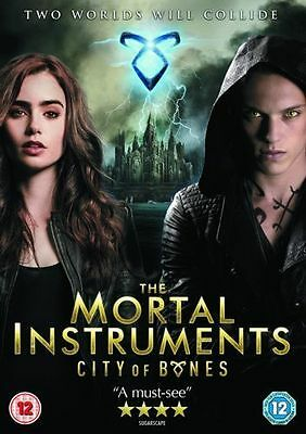The Mortal Instruments: City Of Bones DVD (2014) Lily Collins, Fantasy Action • 2.49£