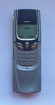 Nokia 8850 Mobile Phone Retro Classic (unlocked) In Fully Working Conditions !!! • 80£