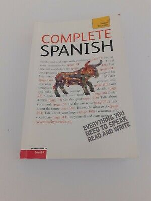 Complete Spanish (Learn Spanish With Teach Yourself) By Juan Kattan-Ibarra (Pap… • 4.50£