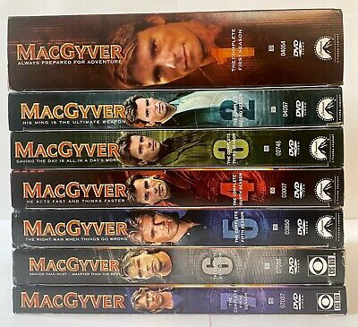 $79.99 • Buy Macgyver: The Complete Series Pack Gift Set- Seasons One-Seven