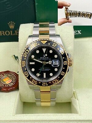 $ CDN15411.93 • Buy Rolex GMT Master II 116713 Ceramic 18K Yellow Gold Stainless Steel Box Booklets