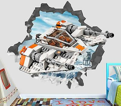 £30.73 • Buy Lego Star Wars Rogue One Custom Wall Decals 3D Wall Stickers Art OP85