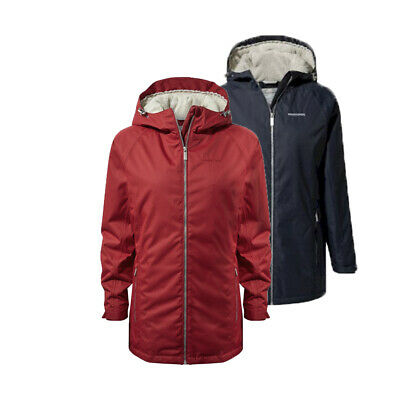 Craghoppers Womens Madigan II Classic Thermal Waterproof Jacket RRP £100 • 29.99£