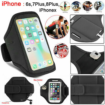 Sports Gym Running Armband Holder Jogging Case For Apple IPhone 6S 7 8 X Plus UK • 3.95£